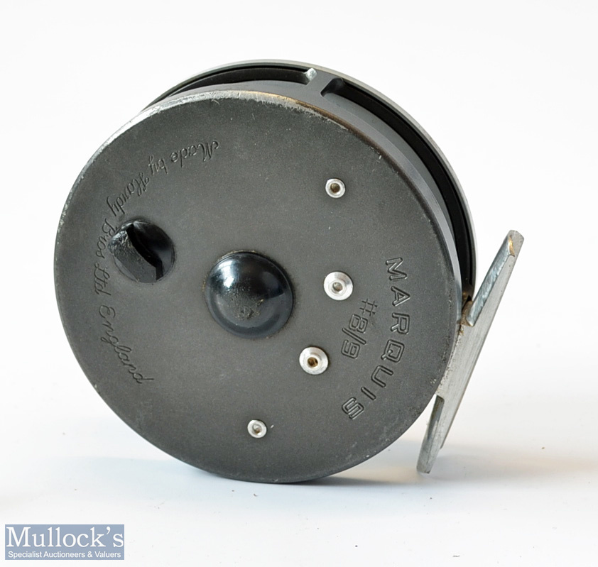 Hardy Marquis 8/9# alloy fly reel – double check mechanism, correct smooth alloy foot, U shaped - Image 2 of 2