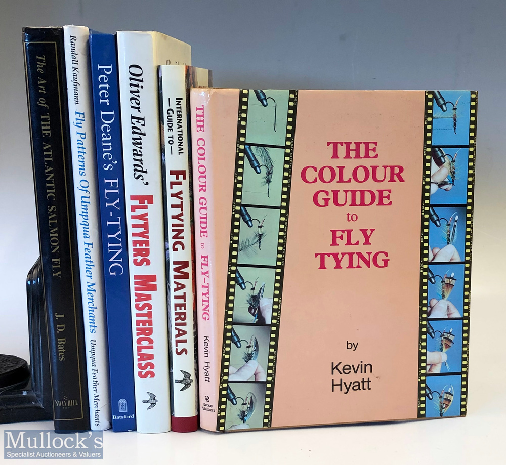 Various Fly-Tying related fishing Books titles include The Colour Guide to Fly Tying, Peter Dean's