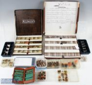 Large Assortment of Mixed Fishing Flies housed in 15 various fly boxes (#hundreds of flies) with