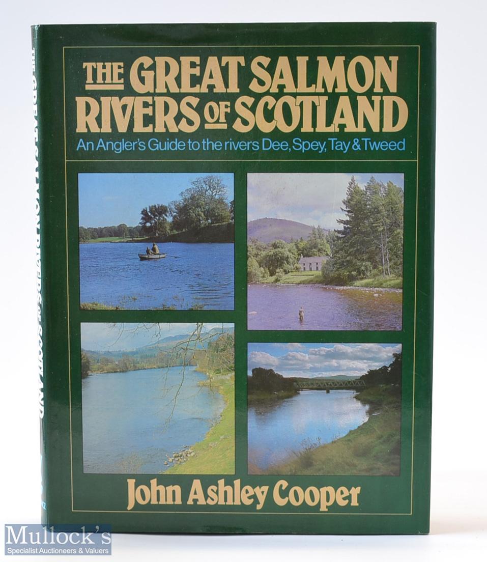 "Scottish Salmon Fishing Book – John Ashley Cooper – ""So Great Salmon Rivers of Scotland-And"