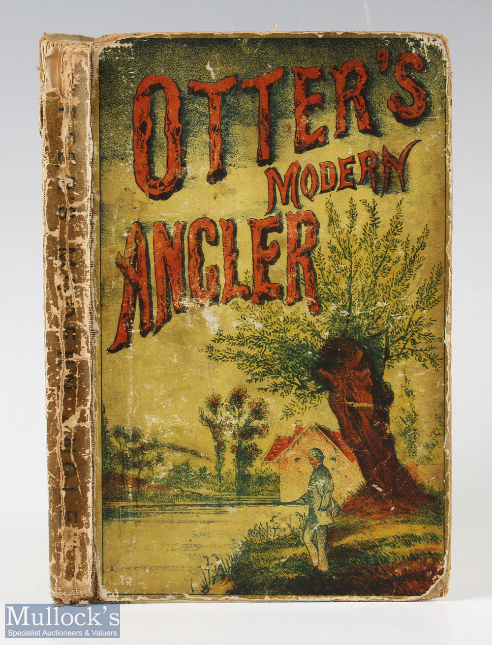 Otter's The Modern Angler – c1881 new edition published by Alfred & Son, London, some pencil notes