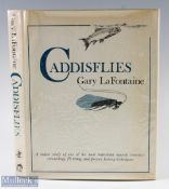"""LaFontaine, Gary – """"Caddisflies"""" first edition 1981, containing photos and drawings throughout, with"""