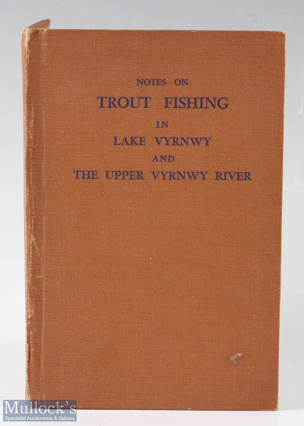 """Threlfall, Richard E – """"Notes on Trout Fishing in Lake Vyrnwy and The Upper Vyrnwy River"""" limited to"""