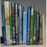 Selection of Fishing Books including To Rise A Trout, Fly Fishing Skill on Stillwater, River Trout