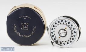 Hardy Bros England Marquis #7 Multiplier alloy trout fly reel with alloy smooth foot, quick