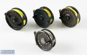 """4x Orvis Fly Reels to include Rocky Mountain 5/6 fly reel, a Clearwater Classic IV 3 ½"""" fly reel,"""