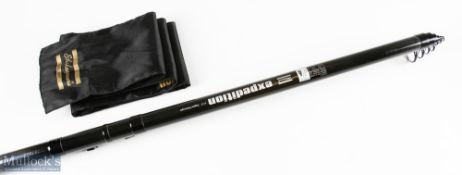 Shakespeare Expedition Telescopic Dapping Rod 17ft 3ins (5.20m) 10-40gm action, in original bag
