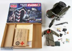 Action Man WW2 German Figures and Accessories incl 2 1960s figures and a similar 1970s each