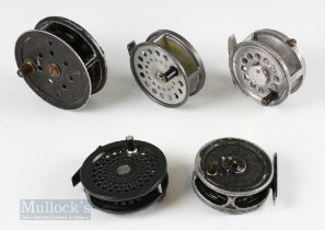 5x Unnamed Fly Reels – all run smooth showing signs of use