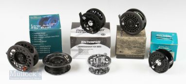 """Mixed Reel Selection (4) – Scientific Anglers 3M System two 78-L 3"""" reel with counter balance handle"""