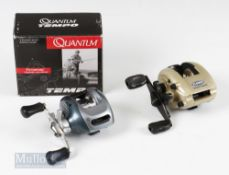 Quantum Tempo TM400C Baitcasting Reel with dynamic magnetic cast control, with original box,