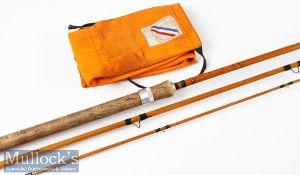 Split Cane Spey Fly Rod: Pezon et Michel parabolic Saumon fly rod – 13ft 3pc with test curve