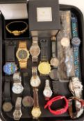 SELECTION OF LADIES AND GENTLEMEN'S WRISTWATCHES including Oskar Emil, Swatch, Bering, Aspect,