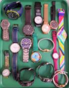 SELECTION OF LADIES AND GENTLEMEN'S WRISTWATCHES including Limit, Emporio Armani, Timex, Sekonda,