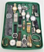 SELECTION OF LADIES AND GENTLEMEN'S WRISTWATCHES including Rotary, Montine of Switzerland, Pulsar,