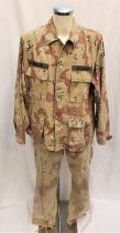 THREE KINGS (1999) - U.S. ARMY CAMO UNIFORM (AIRBORNE) Desert camouflage NATO military uniform,
