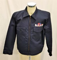 MEET THE PARENTS (2000) - NAVY BLUE AIRLINE UNIFORM the gents large navy blue jacket with a zip