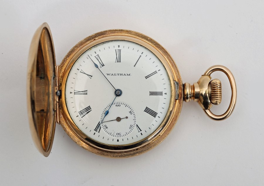 Late 19th century pocket watch by American Waltham Watch Co. - Image 2 of 4