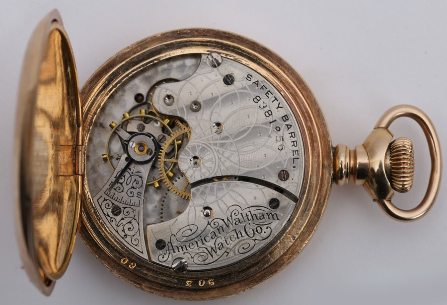 Late 19th century pocket watch by American Waltham Watch Co. - Image 4 of 4