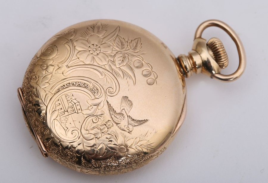 Late 19th century pocket watch by American Waltham Watch Co.
