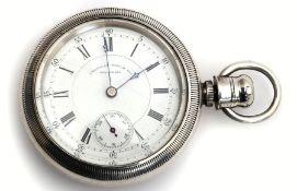American Watch Co. patent dust-proof pocket watch.