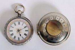 Swiss lady's pocket watch.