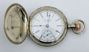 Late 19th century American pocket watch by Illinois Watch Co.