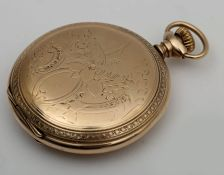 Early 20th century pocket watch by American Waltham Watch Co.