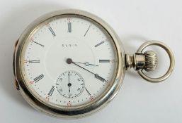 19th century Elgin pocket watch.
