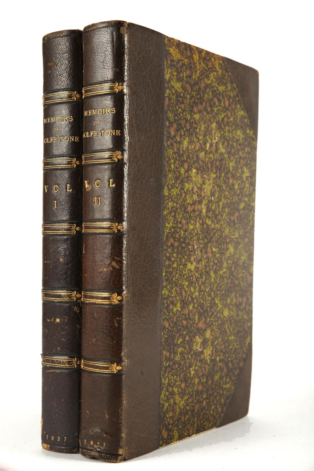 Wolfe Tone, Theobald. Memoirs of Theobald Wolfe Tone: Written By Himself, Comprising a Complete
