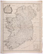 Maps of Ireland. 1744 Map of Ireland by Richard William Seale, Map of the Kingdom of Ireland From