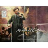 "Cinema poster. Michael Collins, 1996, British quad poster, folded, 30"" x 40"" (76 x102cm)"