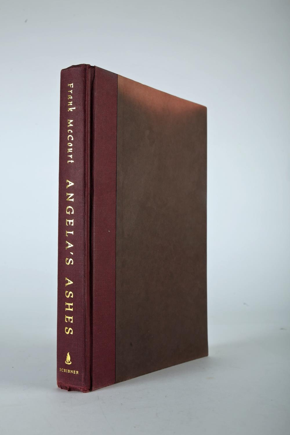 McCourt, Frank. Angela's Ashes. Scribner, New York. 1996, first edition, 8vo. red cloth gilt and - Image 3 of 4
