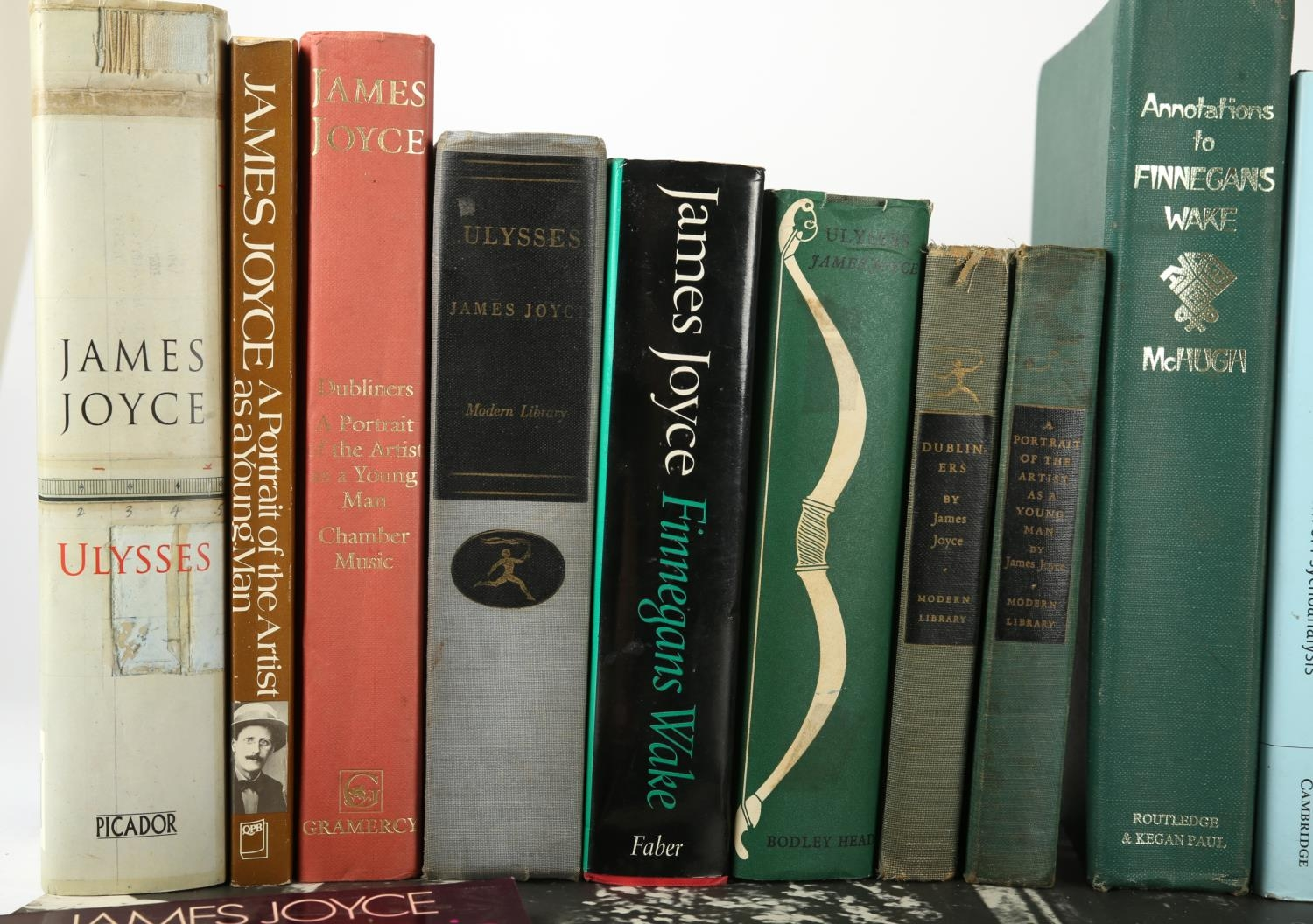 A collection of 29 books by and about James Joyce including Ulysses, Random House, 1946; Bodley - Image 2 of 3
