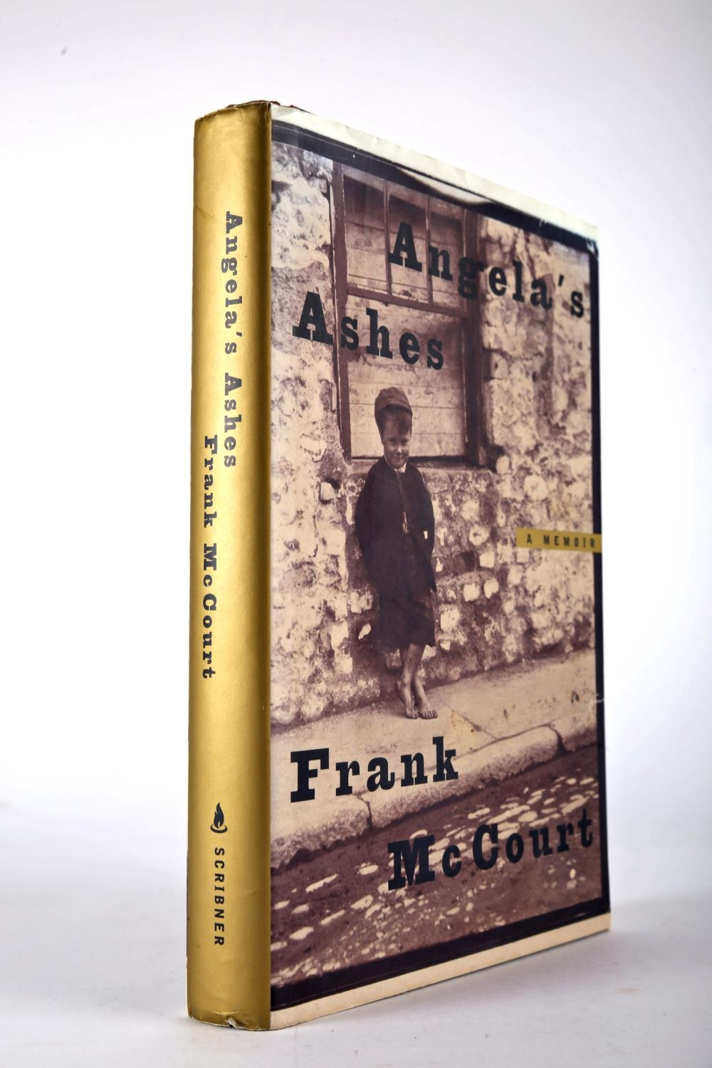 McCourt, Frank. Angela's Ashes. Scribner, New York. 1996, first edition, 8vo. red cloth gilt and