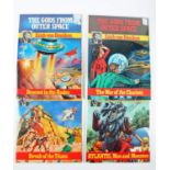 Comics. The Gods From Outer Space, based on the Work of Erich von Däniken, four issues, raw, Descent