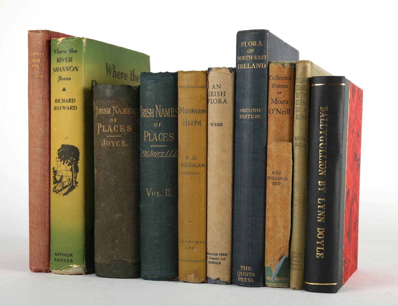 Collection of volumes on Irish natural history and heritage. Evans, Emyr Estyn. Irish Heritage.