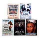 Boxing. Mike Tyson, Katie Taylor, Chris Eubank, Steven Collins & Wayne McCullough, a collection of