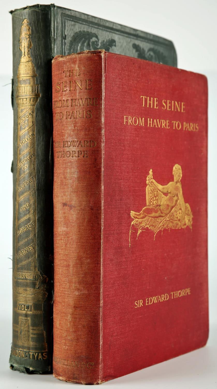 Horne, R H Ed.The History of Napoleon, Volume I. Robert Tyas, London, 1841, green cloth gilt;
