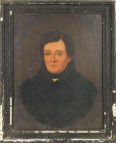 "19th Century, Irish School. Daniel O'Connell Oil on canvas, 18"" x 14"" (46 x 36cm)"