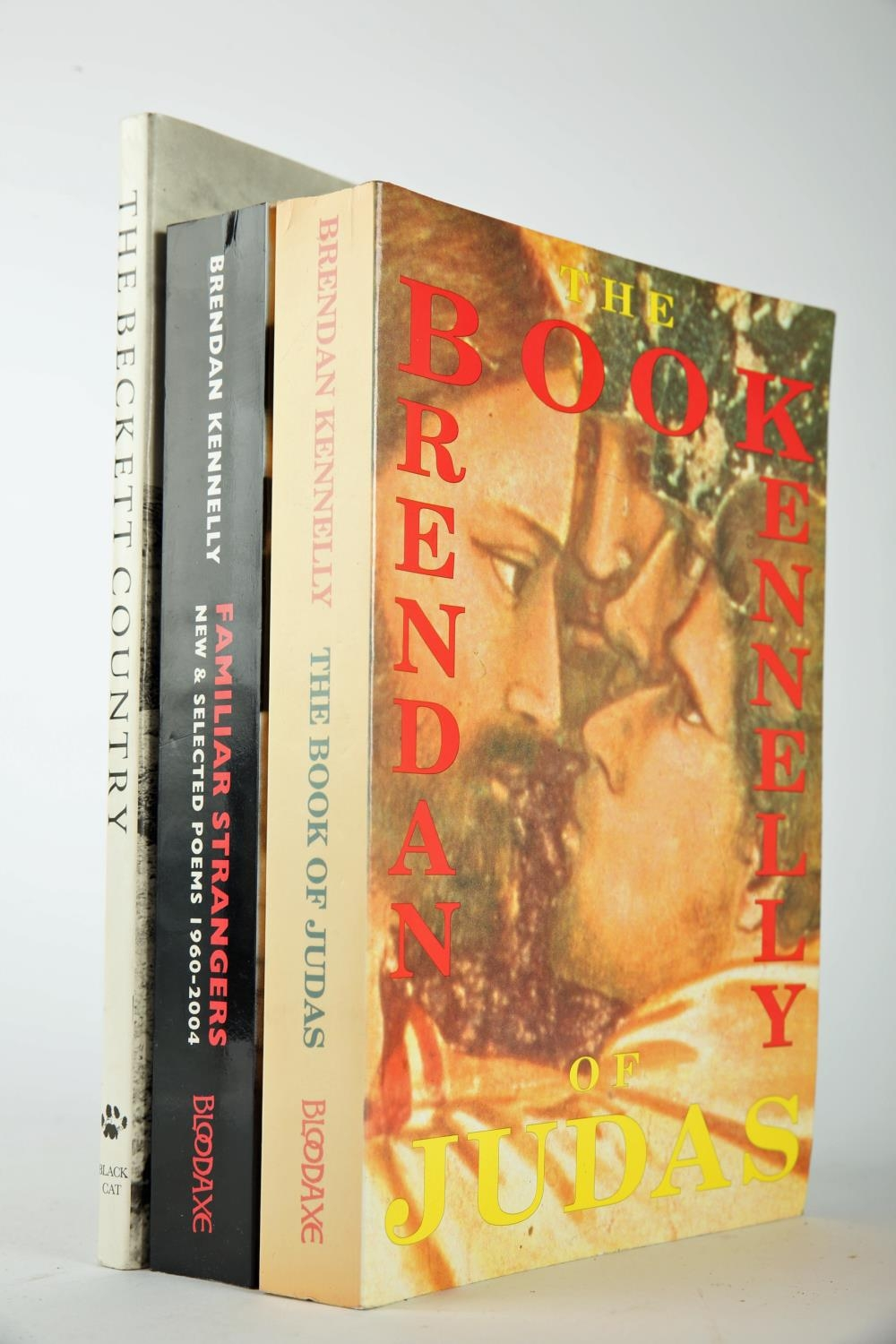 The Beckett Country & two Brendan Kennelly first editions (one signed) O'Brien, Eoin. The Beckett