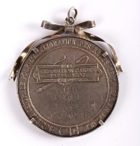 Maud Gonne, Paris Dog Show 1897, silver award medal to her for her German Basset 'Snake', the