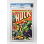 The Incredible Hulk #181 (Marvel, 1974) CGC VF 8.0 Off-white pages, slabbed. First full appearance