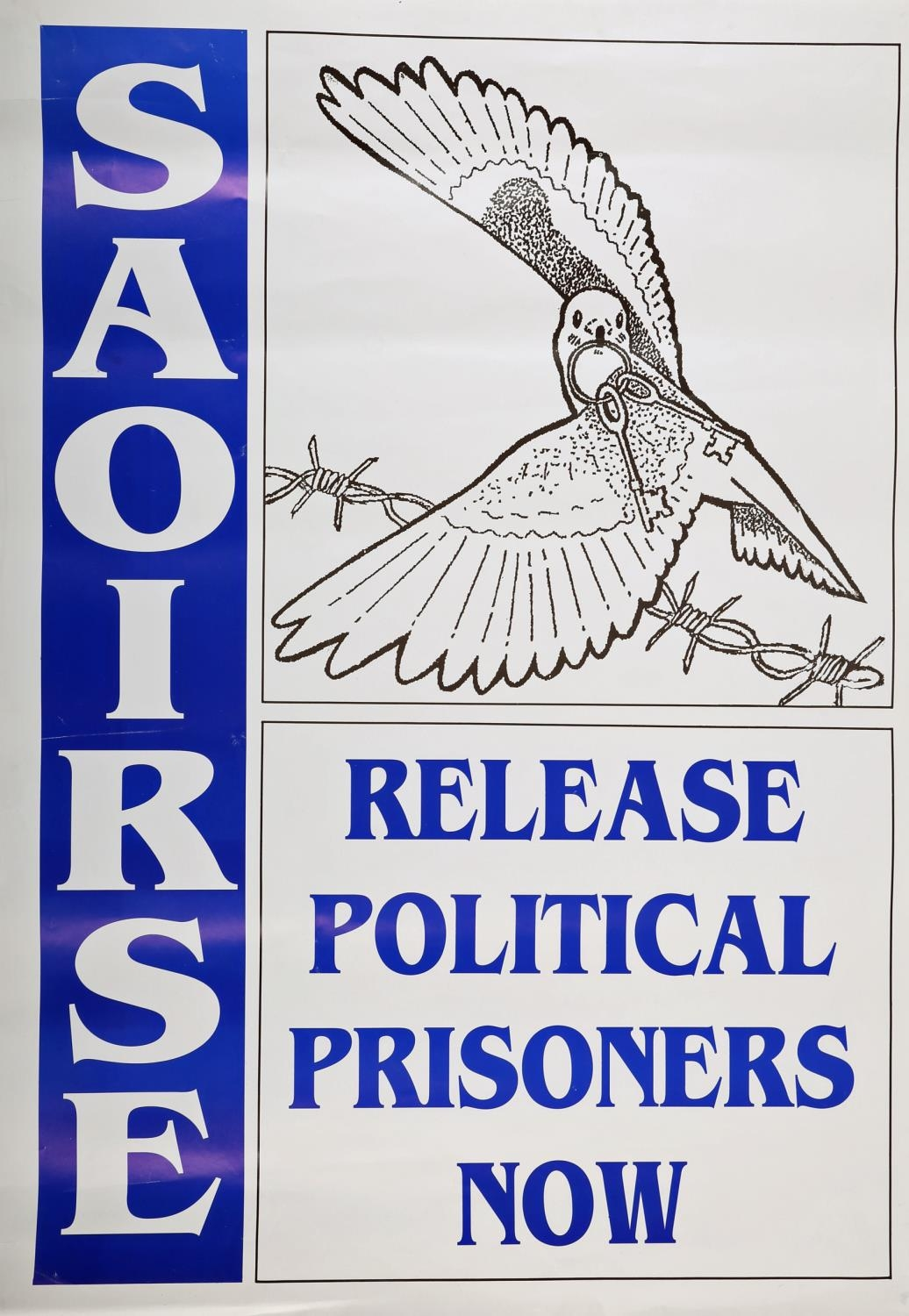 """1990s a collection of six Republican Ceasefire and Peace Process posters, """"All Party Peace Talks - Image 4 of 6"""