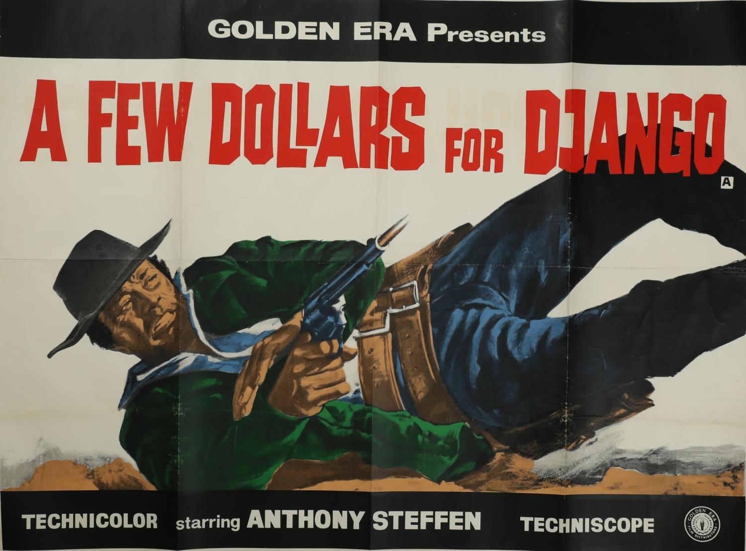 A collection of seven cinema posters for Western films, Haunted Gold, R-1956, (US one sheet); Chisum - Image 6 of 7