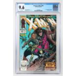 X-Men #266 (Marvel, 1990) CGC NM+ 9.6 White pages, slabbed. First full appearance of Gambit.