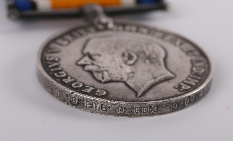 1914-18 Great War. Four British War Medals to Irish Regiments, 6726 PTE. P. CLARKE. CONN. RANG.; - Image 5 of 5