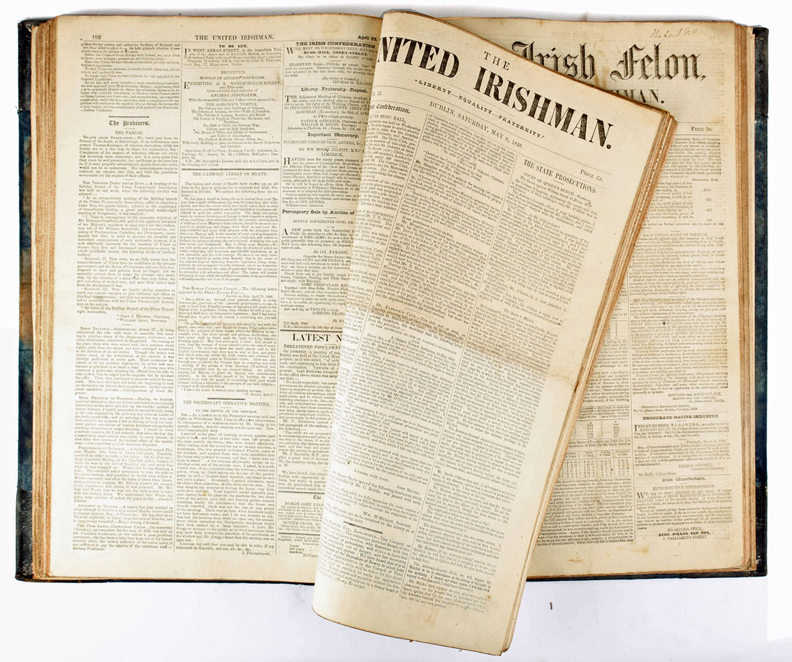 Three extremely interesting and complete Revolutionary Newspapers. As described by Henry Southern in