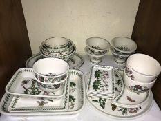 SECTION 6. Portmeirion 'Botanic Garden' pattern including various bowls, rectangular serving dishes,