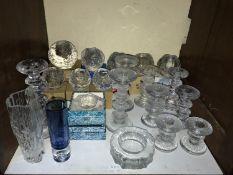 SECTION 18. Various glass 'Festivo' candlesticks designed Timo Sarpaneva (1926-2006), Finland, for